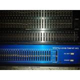 Equalizador Mxr 1/3 De Oct Made In Usa (linea Azul)