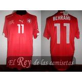 Camiseta De Suiza 2014 Puma 100% Original 11 Behrami Unica!!