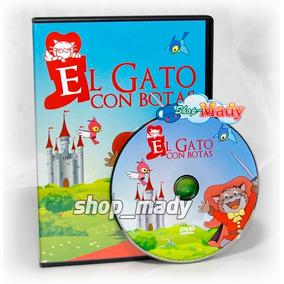 El Gato Con Botas De Toei Animation Dvd En Español Latino