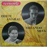 Orlando Silva / Odete Amaral Lp Revivendo