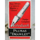 Antigua Publicidad De Plumas Drawlet Esterbrook ( T921)