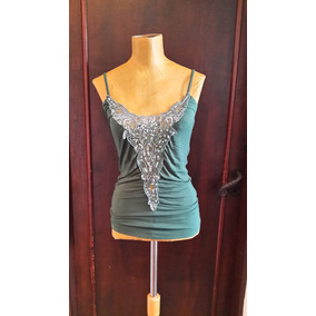 Top Musculosa Paillettes.t S.medidas.san Isidro