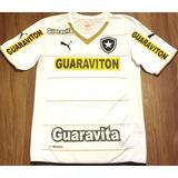 Camisa Botafogo Rj Usada Em Jogo Brasileirão 2014 Branca 19137c432684f