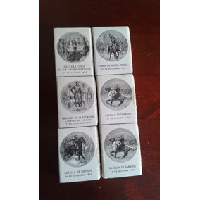 Coleccion Cajas Fosforos Antiguas Acontecimientos Historicos