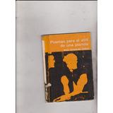 Poemas Para El Atril De Una Pianola Gonzalez Tuñon 1 Edicion