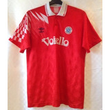 79130d1b46 Camisa Napoli Italia Umbro 1991 1993 Terceiro Uniforme Rara