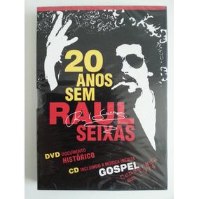 Dvd + Cd 20 Anos Sem Raul Seixas - 1ª Prensagem Lacrado!!!