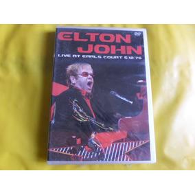 Dvd Elton John Live At Earls Court / Novo