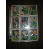 Tarjetas Coleccionables Usa 94, Lote De 34 + Hojas
