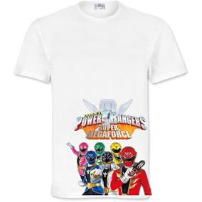 Playera Power Ranger Megaforce Niños Y Adlutos 100% Calidad