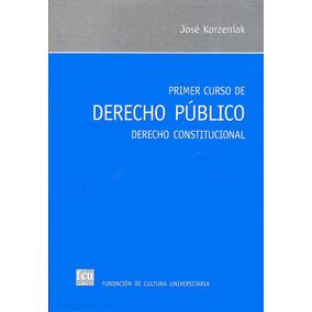 Primer Curso De Derecho Público / Korzeniak