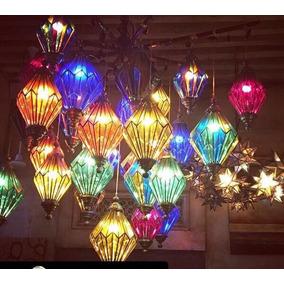 Lamparas Vidrio De Colores en Mercado Libre Mxico
