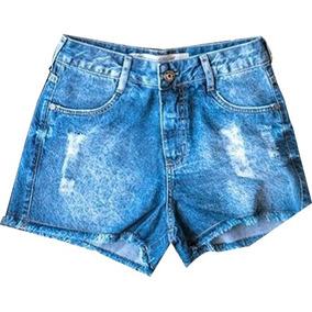 Short Femenino De Jean. Marca Pitt Jeans