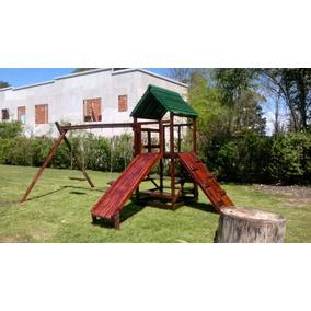 Juegos Infantiles De Jardin De Madera Mangrullo Cabriolas - Juegos ...