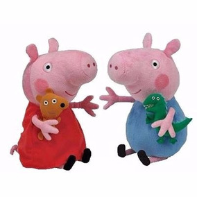 1 Boneca De Pelúcia Pepp@ Pig Musical + Brinde