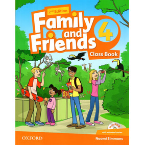 Family And Friends 4 - Class Book - 2nd Edition - Oxford
