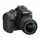 Cámara Digital Réflex Nikon D3400 + Tripode + Mochila