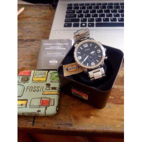 Relógio Masculino Social Fossil Modelo Jr1353 Nate