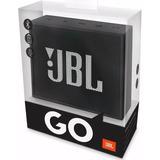 Caixa De Som Jbl Go Flip Speaker Portatil Bluetooth Preto