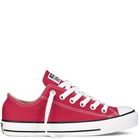 Converse All Star Chuck Taylor Choclo Rojo Tallas Grandes