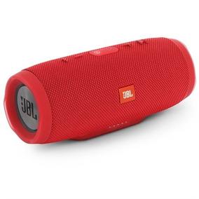 Caixa De Som Bluetooth A Prova D´agua Jbl Charge 3 Vermelha