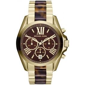 105f83213bae7 Relógio Michael Kors Omk8204z Marrom - Relógios De Pulso no Mercado ...