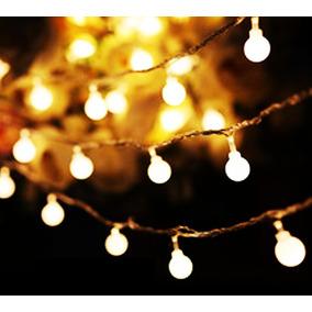 905be18c7437b Serie Luz Led Focos Esfera Pilas Xv Mesa Vintage Navidad Bar