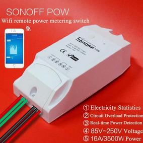 Interruptor Inalámbrico Wifi Con Monitoreo De Energía