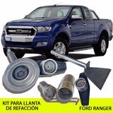 Combo Birlos Y Kit Ford Ranger Llanta Refacción - Promo!