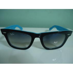 6ea9b6adeca2b Óculos Clubmaster 3016 48mm Tartaruga Lentes Verdes. São Paulo · Óculos  2140 Wayfarer Preto Fundo Azul Lente Azul Degrade. R  149