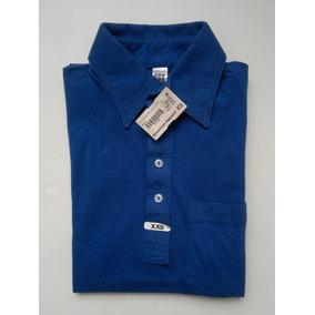 American Apparel Playera Tipo Polo Color Azul Rey Talla Xxs 330499fcb01c2