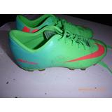Botines Nike Color Verde en Y Naranja Deportes y Fitness en Verde Mercado f2ffed