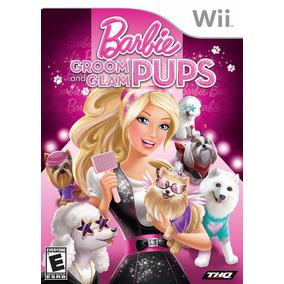 Jogo Barbie Groom And Glam Pups Nintendo Wii Original