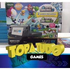 Nintendo Wii U Desbloqueio Definitivo Haxchi 96gb Jogos Dlc