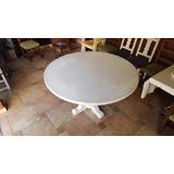 Mesas De Algarrobo Redondas Usadas Comedor Usado En