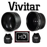 Lentes Canon Vixia Hf R72 R700 R70 R600 R62 R60 Gran Angular
