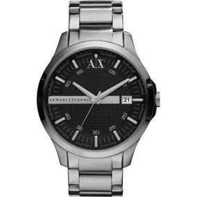 Lindo Relógio Armani Exchange Ax2103 Prata Original C1111. R  463 51. 12x R   38 sem juros 31a9f5016a