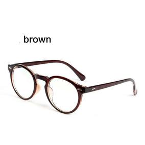Armação Óculos D Grau Acetato Redondo Masculino Feminino Bo 71546a0fd3