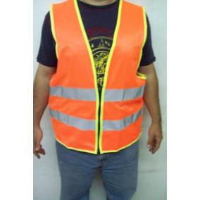 Chaleco Casaca Vial Proteccion Naranja Carretera Seguridad 75de1aabd7815