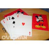 Baraja Jumbo Disney Mickey Mouse Cartas Poker Naipes Dy36