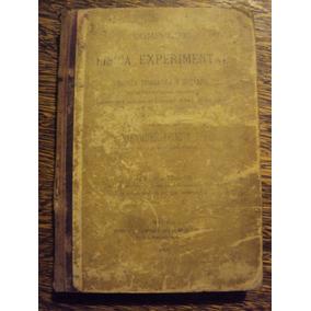 Compendio Fisica Experimental Quimica Inorganica 1900 Feliu
