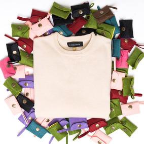 Sweater Dama Básico Beige - Buzo Tejido De Punto - Bellmur