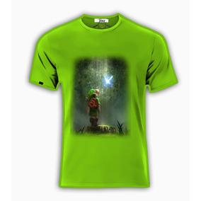 Playeras O Camiseta Link Zelda Quest Game Forest!!!