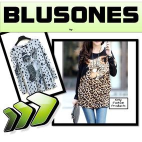 Blusones Fashion Ropa Blusas Mujer Moda Japonesa Negocio Ofp