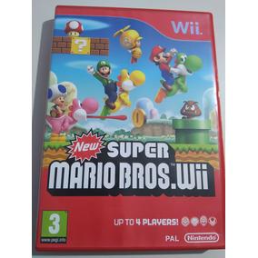 New Super Mario Bros.wii Pal - Europeu Original Completo!