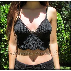 Top Musculosa Tejido A Crochet ( Artesanal! )
