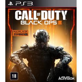 Call Of Duty Black Ops Iii Midia Fisica Ps3 Português Cod 3