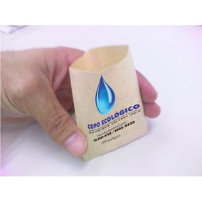 Copo Ecológico De Papel Em Formato De Envelope - 500copos