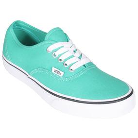 zapatillas vans verde agua