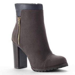 Botas Botin Livia Charcoal Juicy Couture 6 Mex